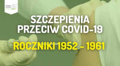 szczepienie roczniki 1952 1961