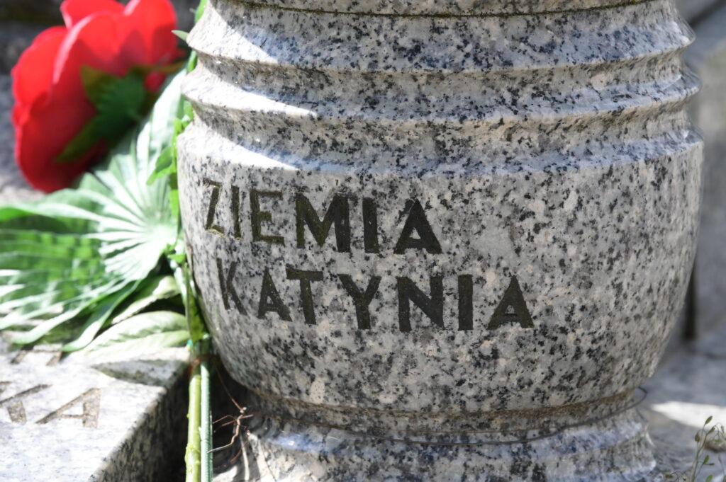 Zdjęcie grobu na cmentarzu w Lusowie