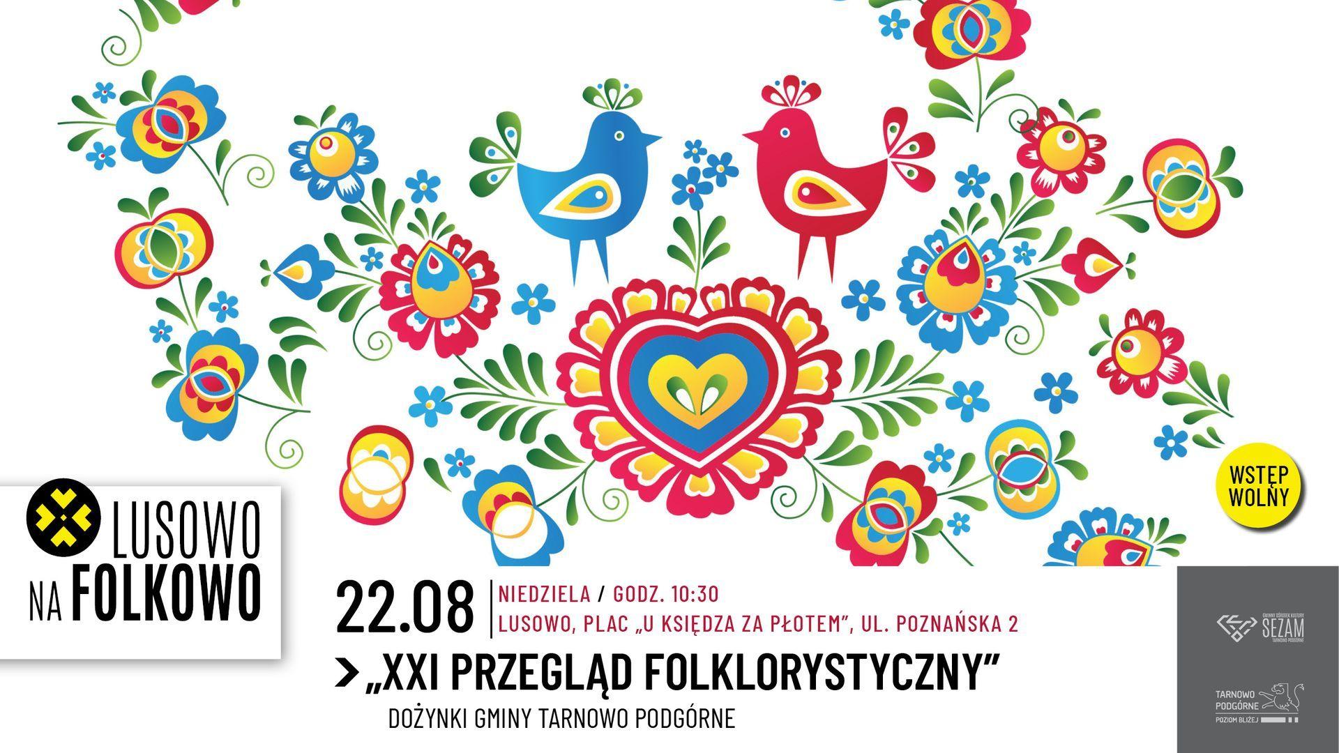 Lusowo na Folkowo - Przegląd Zespołów Folklorystycznych