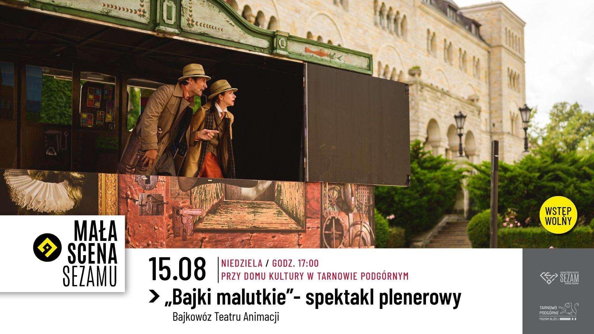 """""""Bajki Malutkie""""- Bajkowóz Teatru Animacji"""